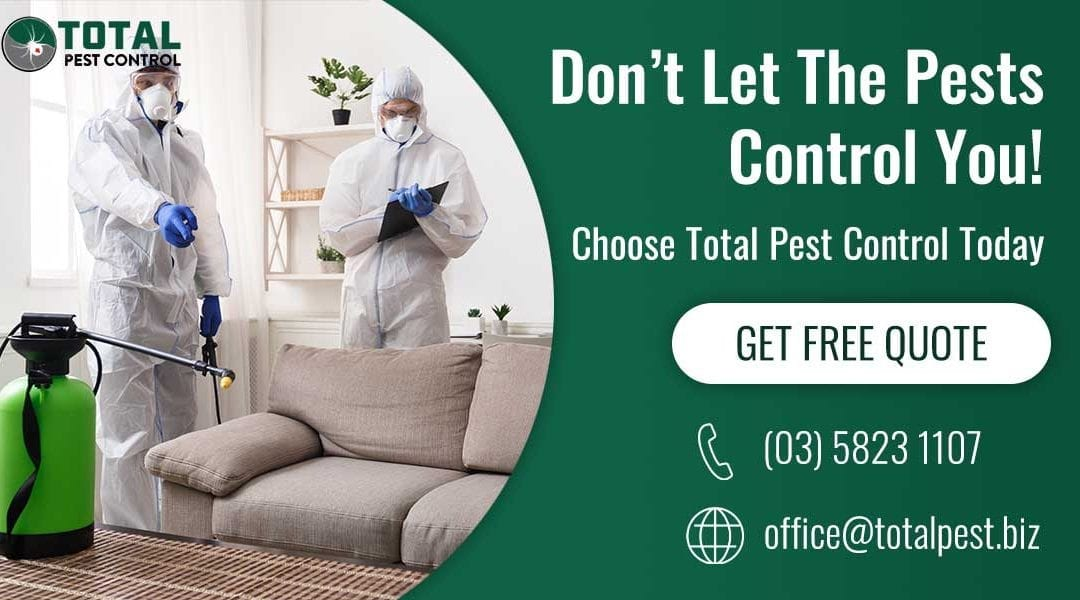 Don't Let The Pests Control You! Choose Total Pest Control Today